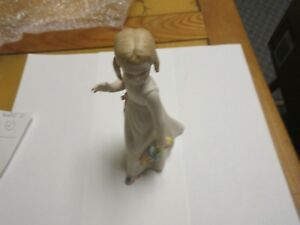 Porcelain Figurine Antique Vintage Cybris Girl Doll 7