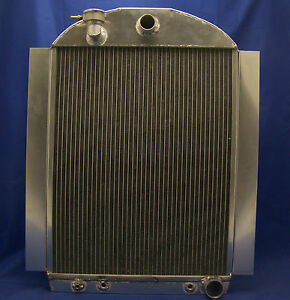 1940 Chevy Truck V 8 Aluminum Radiator 38 39 40 41 Made In The Usa