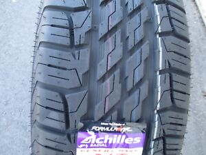 4 New 235 70r15 Achilles Desert Hawk A t Tires 2357015 70 15 R15 All Terrain