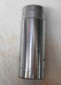 Vintage Old Snap on 1 2 Drive 7 8 Deep Well 12 Pt Socket Svs281 Made In Usa