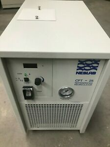 Neslab Cft 25 Chiller Coolflow Refrigerated Recirculator 5 c 30 c 580 Watts