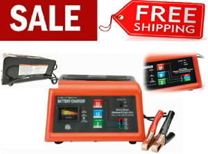 Portable 12v Car Battery Charger Jump Starter For Atv Auto Truck Boat Tractor