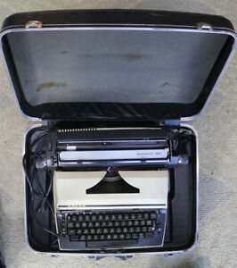 Pre Owned Vintage Adler 2001 Electric Typewriter With Original Box Working