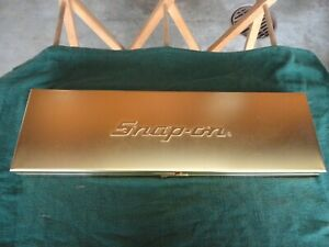 Snap On Gold Plated Kra 284 B Tool Box Very Good Condition