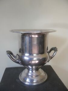 Silver Plated Champagne Bucket Wine Cooler