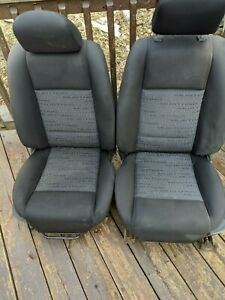 2005 Mustang Front Bucket Seat Set 1st Digit Trim Of Id J Fits 05 09