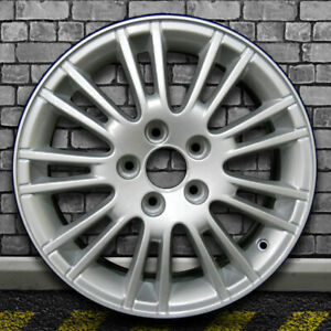 Full Face Sparkle Silver Oem Factory Wheel For 2005 2010 Saab 9 5 16x6 5