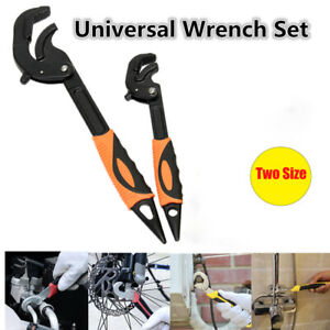 Universal Quick Snap And Grip Adjustable Wrench Spanner Multi Function Set