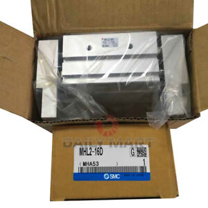 New In Box Smc Mhl2 16d Parallel Type Pneumatic Air Gripper