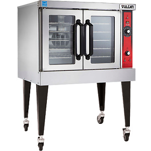 Vulcan Vc4ed 40 Single Deck Full Size Electric Convection Oven 50 000 Btu