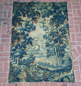A Superb 18th Century Verdure Tapestry