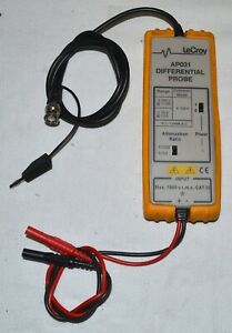 Lecroy Ap031 15 Mhz High voltage Differential Probe used