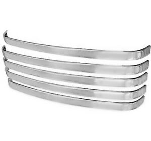 1948 50 Ford Pickup Truck Grille Bar Stainless Steel 5 Pieces Set Dynacorn 3031