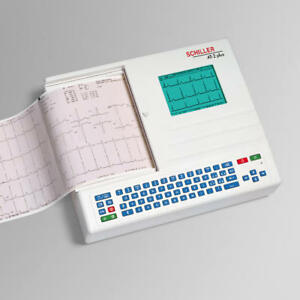 Brand New Schiller At 2 Plus Interpretative Ecg Ekg Machine 3 Yr Warranty