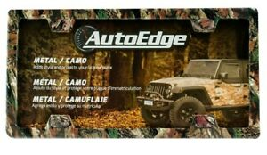 Auto Edge 6 x12 Metal Camouflage License Plate