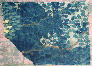A Verdure 18th Century Tapestry Fragment