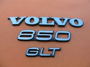 93 94 95 96 97 Volvo 850 Glt Rear Trunk Lid Emblem Logo Badge Sign Symbol Oem 4