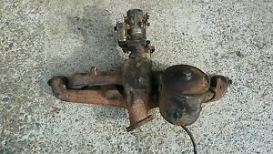 Chevy 216 Intake Exhaust Manifold Carb Core Oil Canister