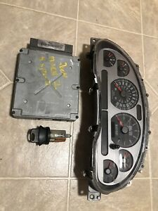 2004 Ford Mustang Mach 1 Instrument Cluster Ecm Computer Tmx2 Ignition
