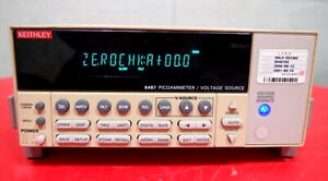 Keithley 6487 Picoammeter Voltage Source f3