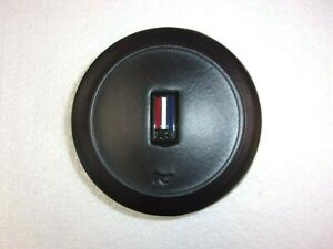 Leather Wrapped Steering Wheel Horn Pad 82 89 Camaro Iroc Z Z28 Or2151