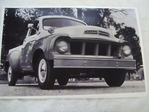 1958 Studebaker Pick Up Truck 11 X 17 Photo Picture