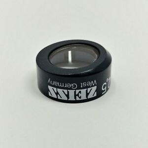 Zeiss Microscope Antiflex Cap For Epiplan Neofluar 2 5x 444922