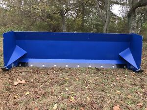 Snow Pusher Skid Steer Mount 8 Foot Snow Box Box Plow