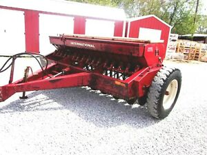 Ih Model 510 Seed Drill 10 Ft works Great For Hemp Seed can Ship 1 85 Mile