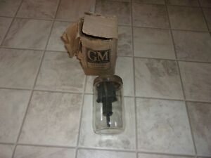 1950 S Trico Gm Glass Ws Washer Fluid Jar Bottle Chevy Caddy Buick Olds Pontiac