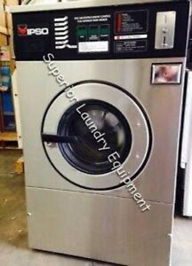 Ipso We181c Washer 40lb Coin 220v 3ph Reconditioned