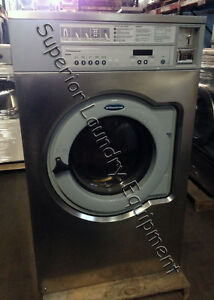Wascomat E655 Giant Washer extractor Coin 55lb 220v 3ph Reconditioned