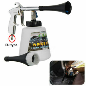 White High Pressure Air Pulse Car Cleaning Gun Surface Interior Exterior Tool 1