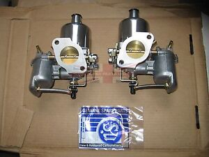 Pair Of Genuine Su Carburetors Hs4 1 1 2 For Mgb Completely New Made In The Uk