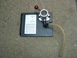 Haas Valve And Mounting Plate For Ac100 Pneumatic Collet Closer For Ha5c Indexer
