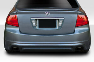 04 08 Acura Tl Aspec Look Duraflex Rear Bumper Lip Body Kit 114497