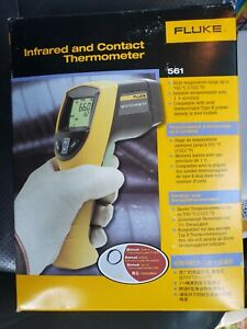 Fluke 561 Hvac Infrared Contact Thermometer