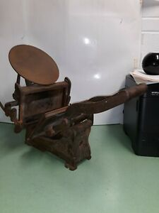 Vintage Kelsey Co Excelsior 5x8 Printing Press Model D