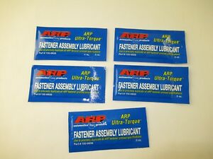 Lot Of 5 Arp 100 9908 Ultra Torque Assembly Lube Lubricant 5 Oz
