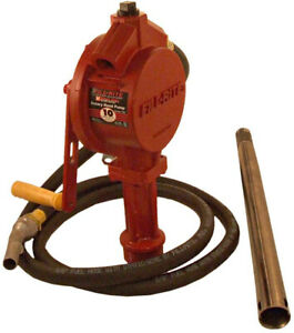 Rotary Hand Pump Manual Operation Anti siphoning Vent Valve Cast Iron Rotor