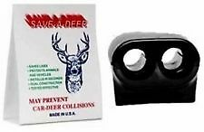 Lot Of 2 Save A Deer Whistle Alert Deer Whistle Deterrent Car Truck New