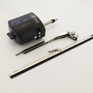 Hot Rod Windshield Wiper Universal Kit With Switch On Motor