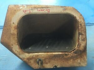 1957 Chevy Truck Gmc Driver S Kick Panel Vent Vent Cover 1955 1956 1958 1959