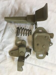 1967 Dodge Coronet Rt Hood Release Assembly Latch Lever 67 440 500 Spring Mopar