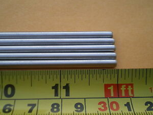 3 Pcs Stainless Steel Round Rod 304 5 32 156 4mm X 12 Long