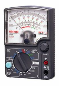 Sanwa Analog Multi Tester Automotive Measurement Corresponding Ta 55 Ta 55