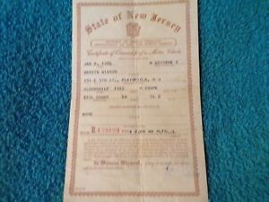 1955 Oldsmobile Coupe Historical Paperwork Document Hot Rat Rod Rare Olds
