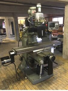 Bridgeport Series Ii Cnc Vertical Mill 3 Axis Proto Trak M3 Control Excellent