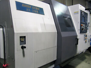 2000 Mori Seiki Zl 200 6 axis Cnc Lathe W Sub spindle Twin Turret Live Tooling