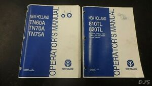 2006 New Holland Tn60a Tn70a Tn75a Tractor Loader Operators Manual Dn270